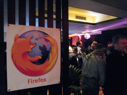 Firefox 2 party in London