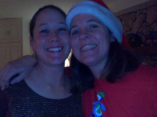 Erika and Judy