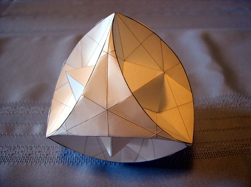 Stellated Curved Tetrahedron on Flickr