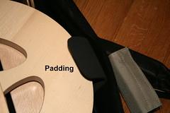 S95 Bag Padding