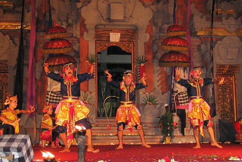 Ubud, Bali: Dancers