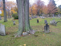 The so called Witches Circle in the Erie Cemetery photo by Willowcottage Photography