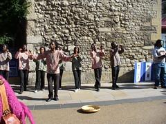 Musique de rue à Oxford