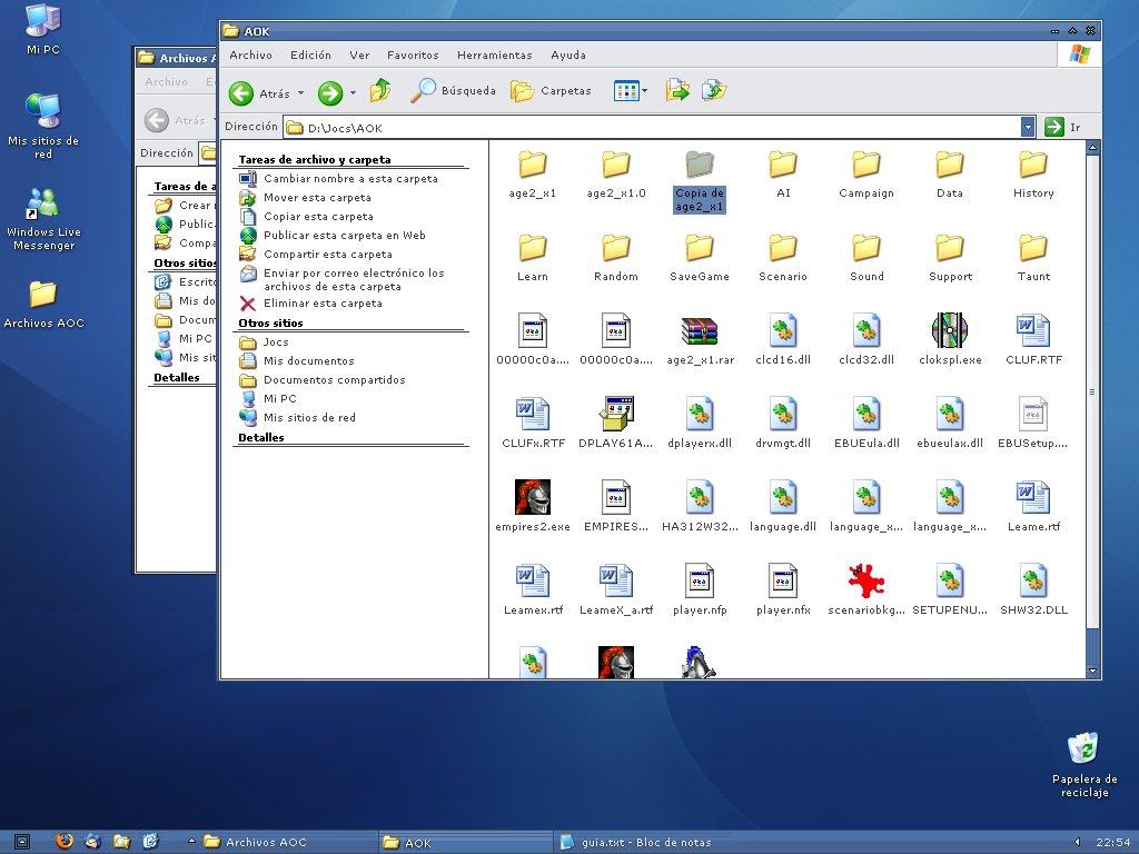 Manual para instalar las 3 versiones del AoC 256717251_8a801f032e_o