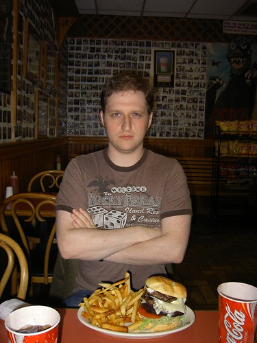 eagle's godzilla burger