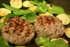 Lamb Mint Burgers