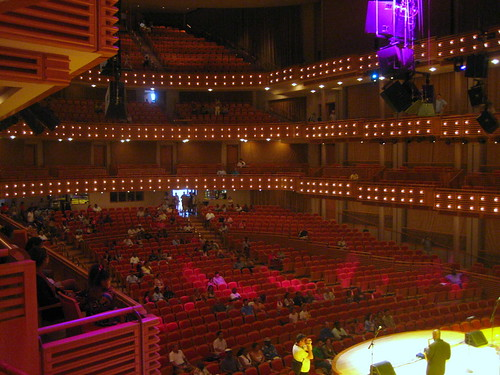 Carnival Center, looking towards audience