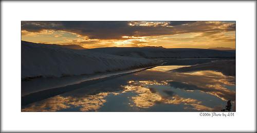WhiteSand sunset