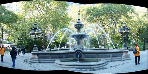 City Hall Park Fount