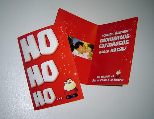 Postal Colecção Ho Ho Ho