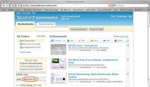 Yahoo! Bookmarks