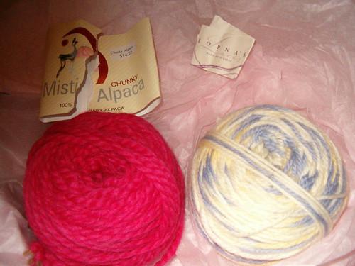 Misti Alpaca Chunky & Lornas Laces Shephard Worsted