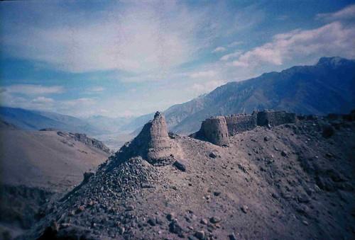 Yamchun fortress, Tajikistan / ヤムチュン城、タジキスタン