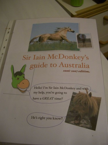 Sir Iain McDonkey's Guide To Australia