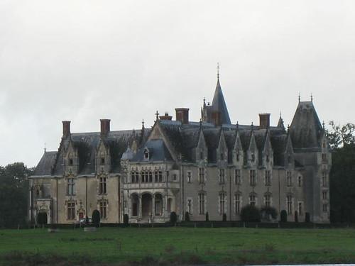 Château de la Gascherie from Bateaux Nantais on L'Erdre
