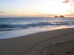 Waimānalo Beach: sunrise