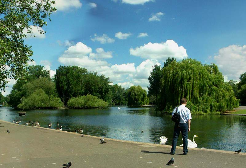 Boating Lake in Regents Park