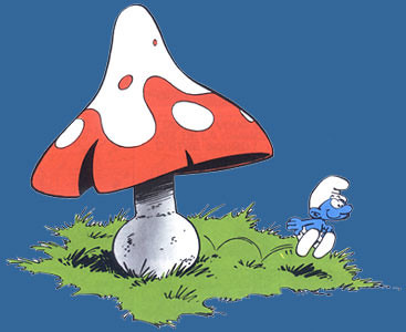 smurf-mushroom