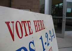 Election day; CC-licensed by amateur on flickr