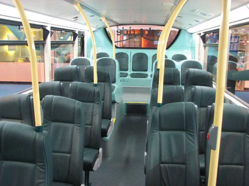 First Devon & Cornwall Enviro 400 Interior