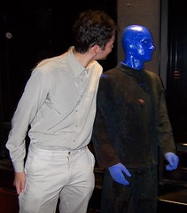 Me and a Blue Man