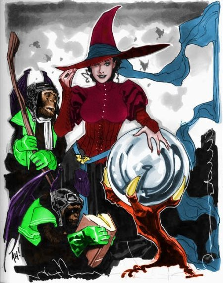 Wicked Witch Color (Adam Hughes + DVD)