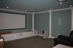 theatre room before