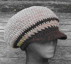Soft Brimmed Cabbie Hat