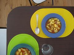 Patatas coloristas