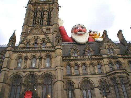 Santa town hall