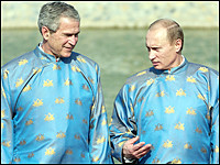 george bush ao dai