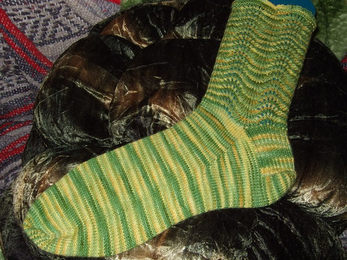 BBF Feather and Fan Sock