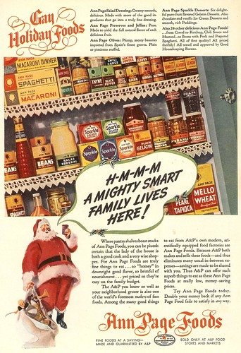 Gay Holiday Foods 1939