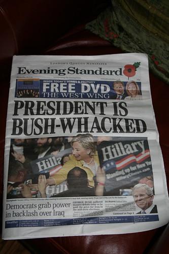 November 8, from a London Newsstand