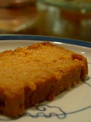 パンプキンおからケーキ
