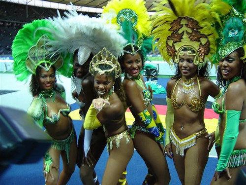 Samba dansers