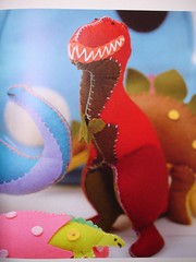 toys to sew t rex