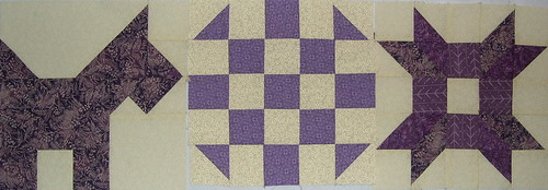 purple sampler blocks