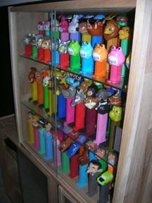 PEZ cabinet