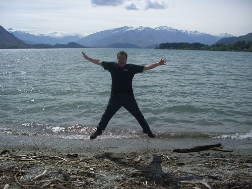 Pat at Lake Wanaka