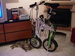 Uma bicicleta compacta para casas compactas