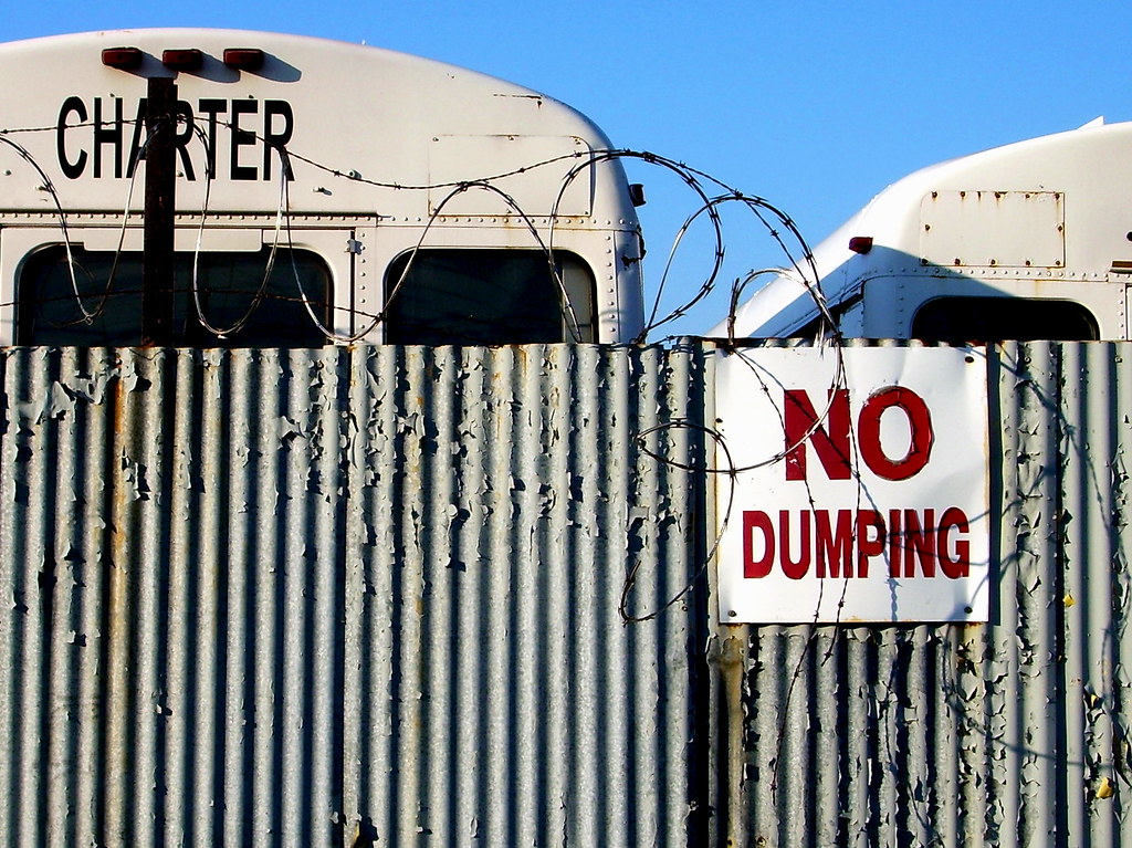 no dumping, east new york
