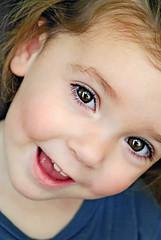 happy girl photo by sesame ellis