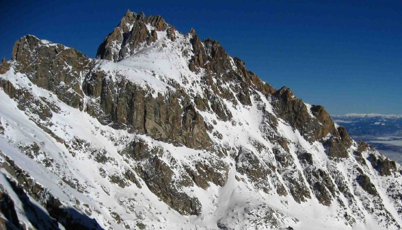 Teewinot and Glacier Gultch