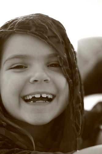 A smile!