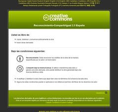 Licencia Creative Commons de Deakialli