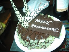 happy anniversary cake (by kapsi)