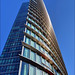 One West India Quay, leading edge (HOK)