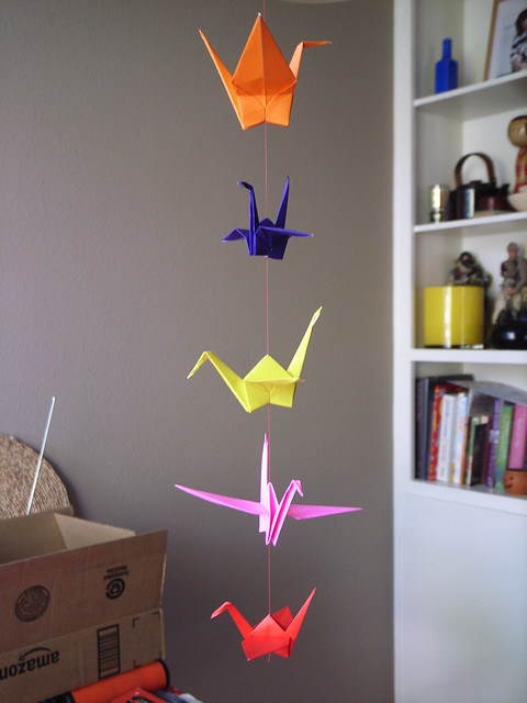 origami instructions paper crane 171 embroidery amp origami