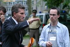 Günther Oettinger und Henning Schürig (Foto: qx)